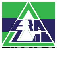 Eralab Logo Default White Shape white